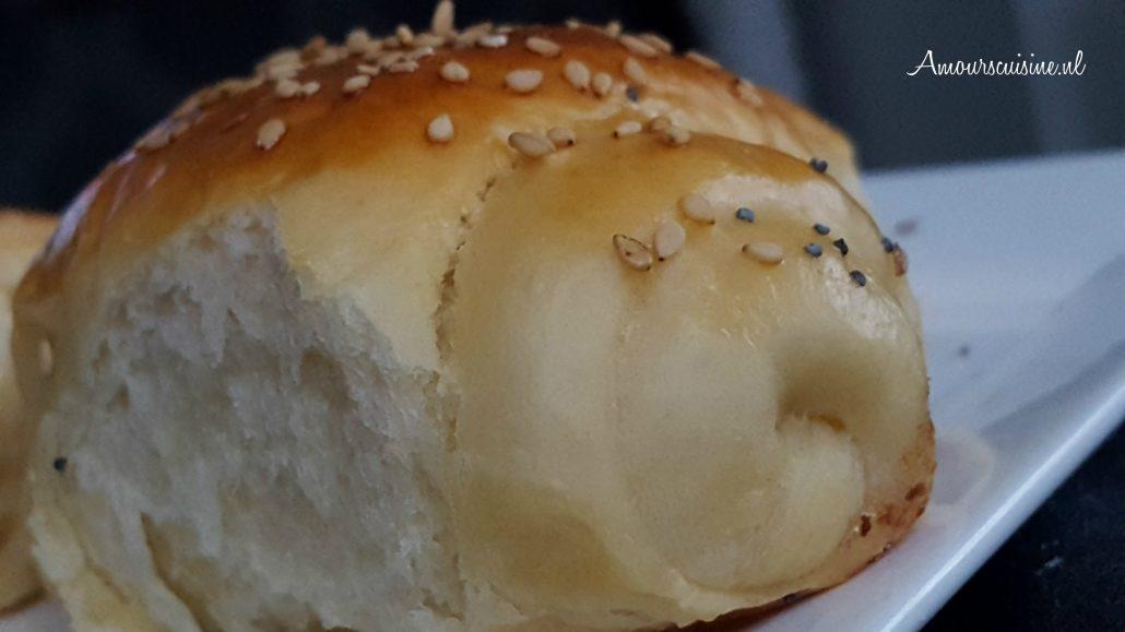 opgerolde broodjes