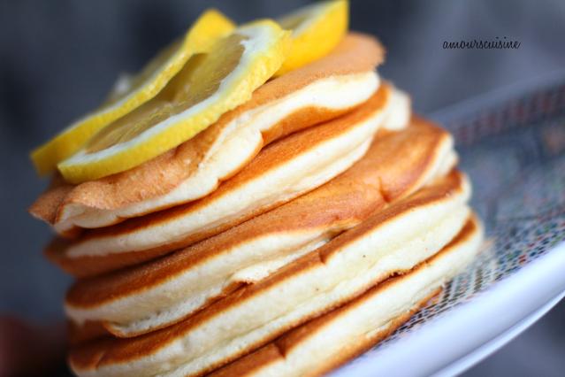 Citroen pancakes