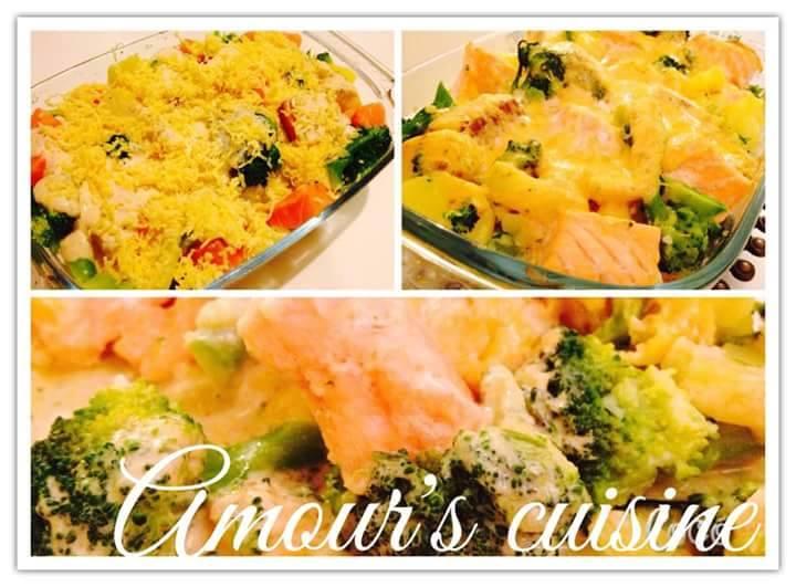 broccoli zalm
